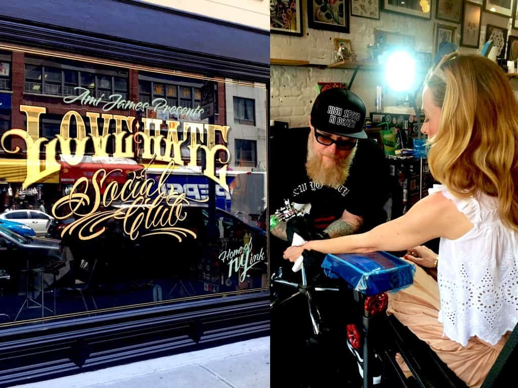 New York Tattoo: Was es wohl geworden ist?