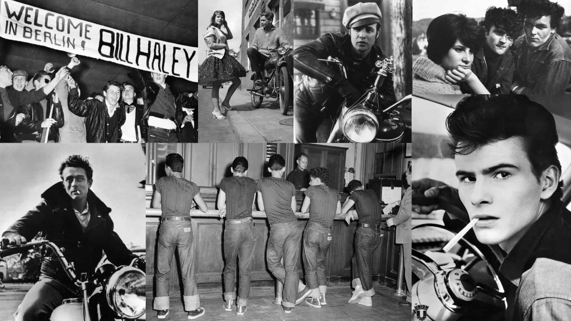 Rebellen der in den 50er und 60er Jahren: Halbstarke