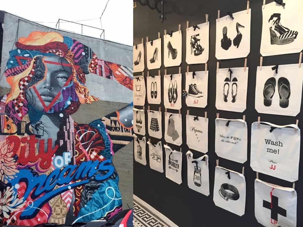 Street Art & Bag All in New York