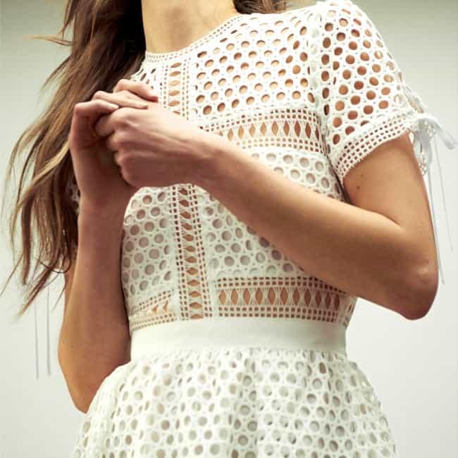IT PIECES FOR ALL: weiße Kleider