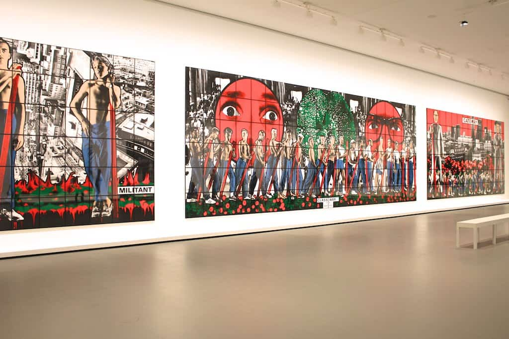 "Gilbert & George: ""Pop art celebrates consumerism, and we celebrate humanism."""