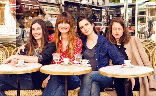 Offensichtlich typische Pariserinnen: die Autorinnen von How to be a Parisian