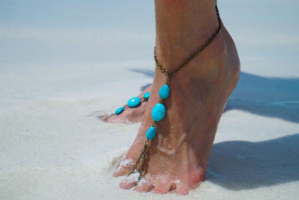 barfuss sandalen