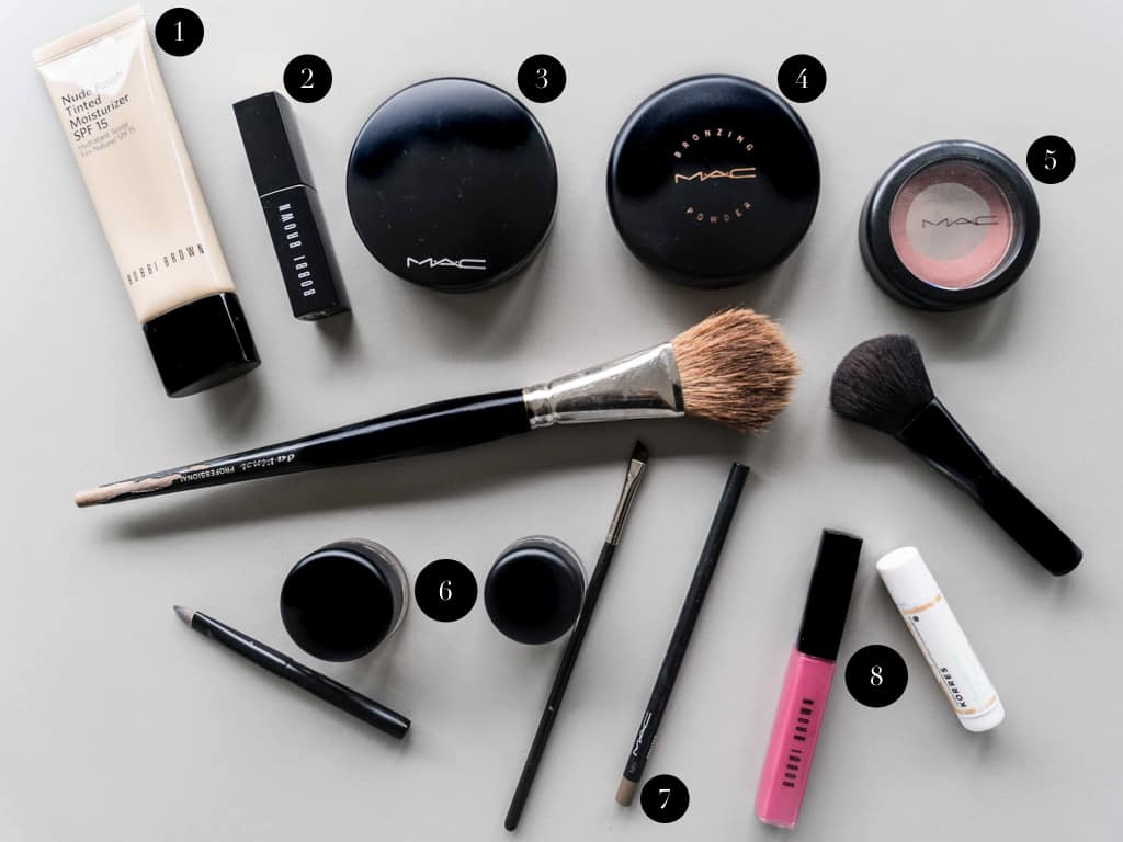 make-up routine