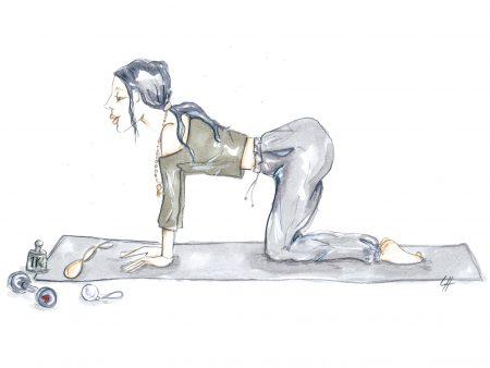 beckenboden pussy yoga Luisa Hecking