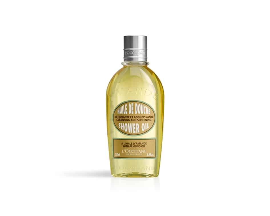 Das Mandel Duschöl von L'Occtiane hilft gegen trockene Haut im Winter