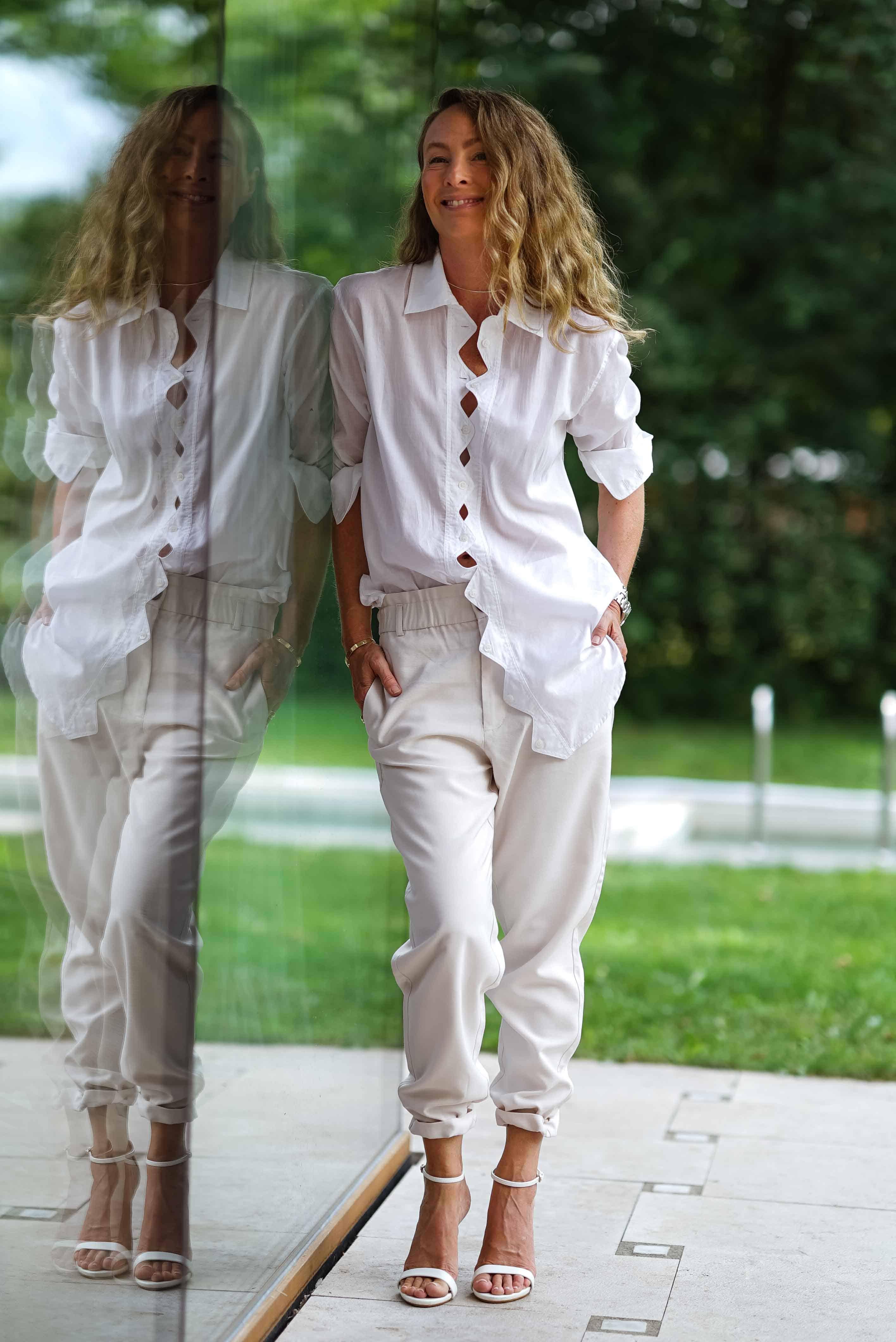 White Essence  lässiger Style für heiße Tage   REBEL IN A NEW DRESS