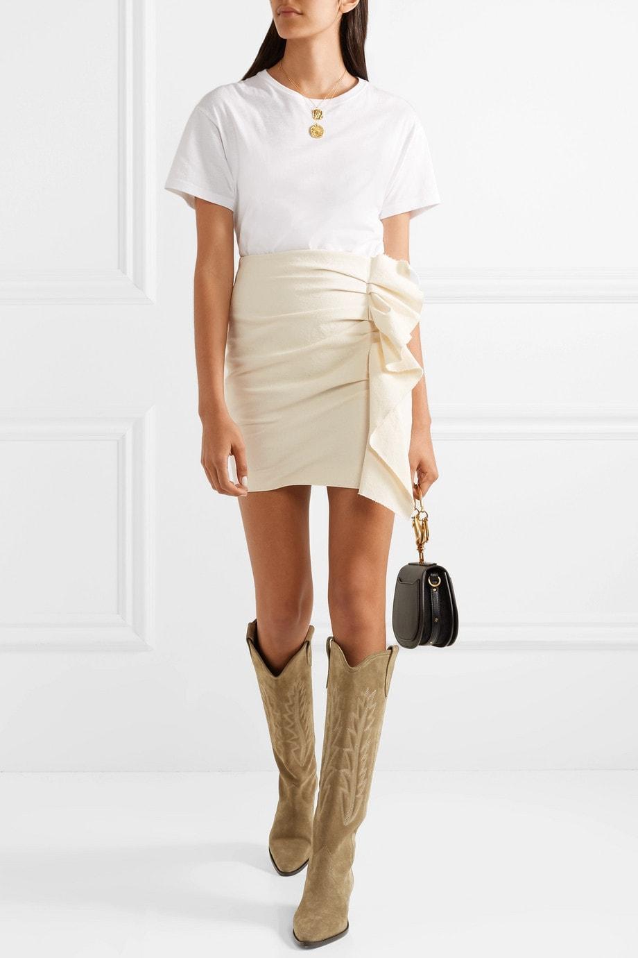 kniehohe Cowboy Boots und Westernstiefel alltagstauglich kombinieren
