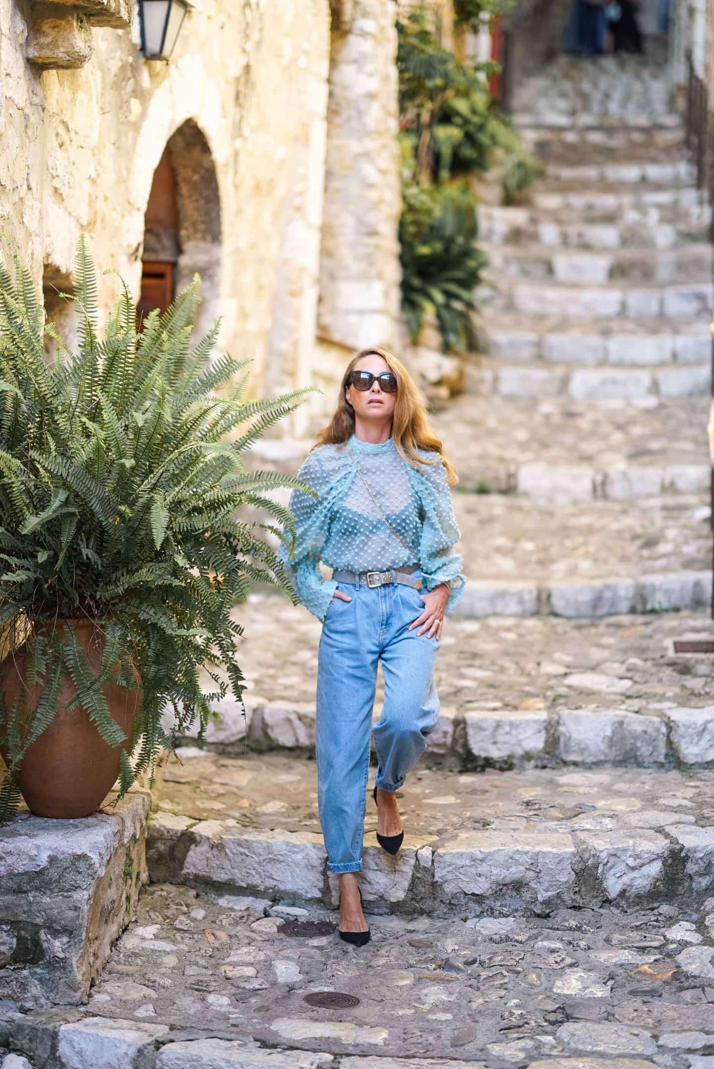 Slouchy Jeans - der Denim Trend