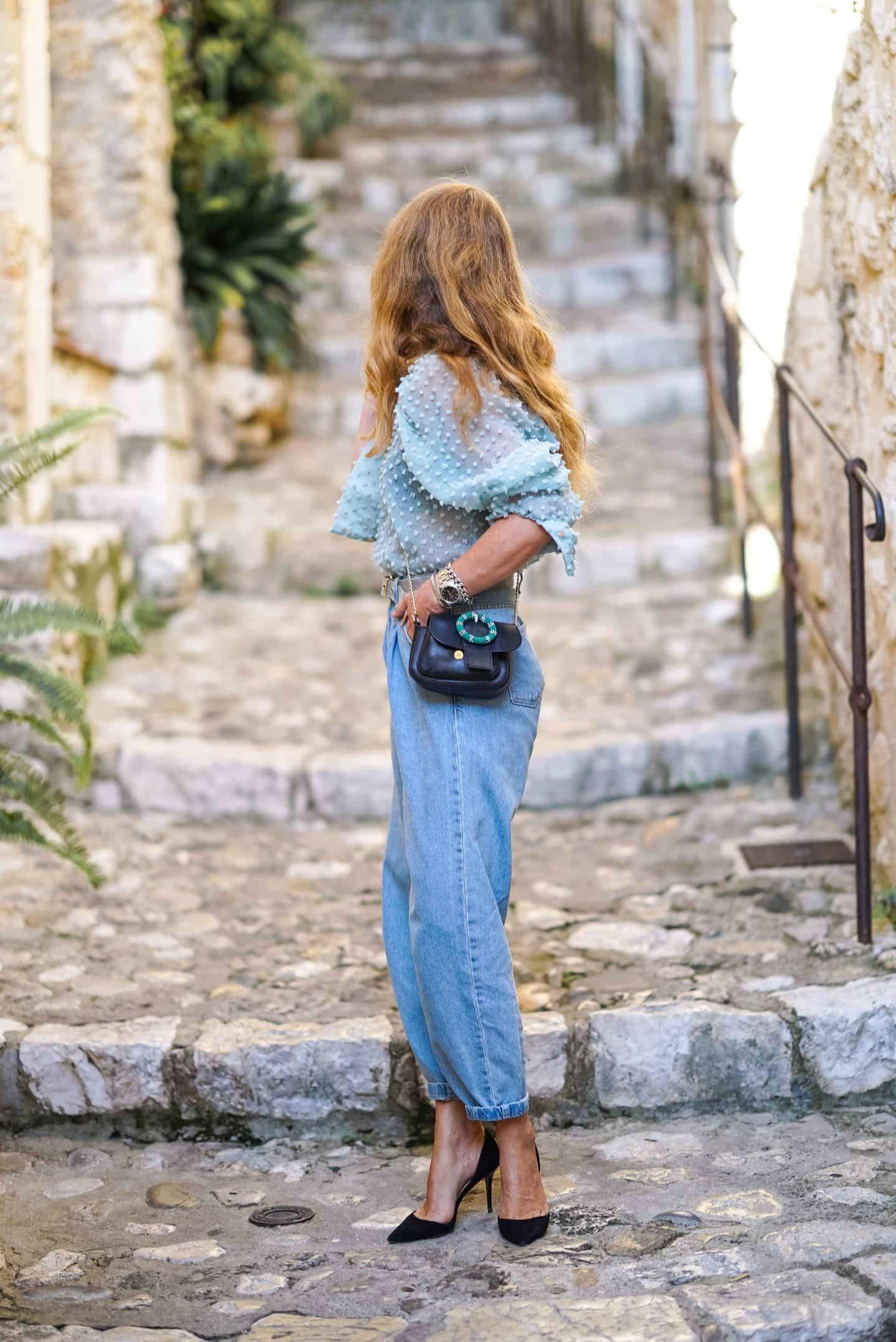 Slouchy Jeans Denim Trend