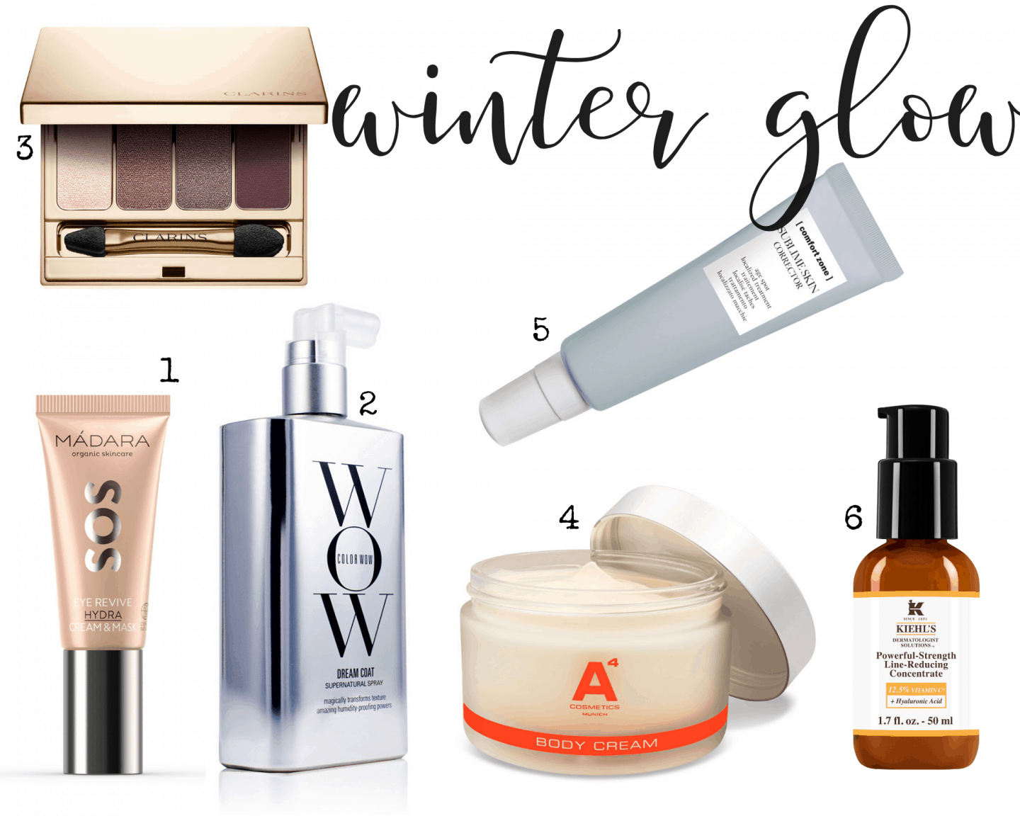 Beauty Lieblinge im Winter mit Mádara SOS Eye Mask