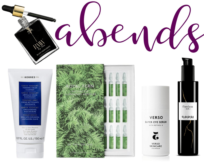 Gesichtspflege im Sommer - die besten Produkte für die Beauty Routine am Abend
