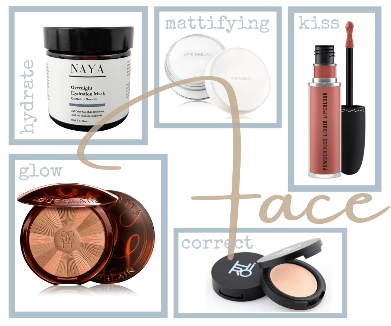 Summer Beauty Essentials für das Gesicht Make-up, Pflege alles für einen wundervollen Teint im Sommer