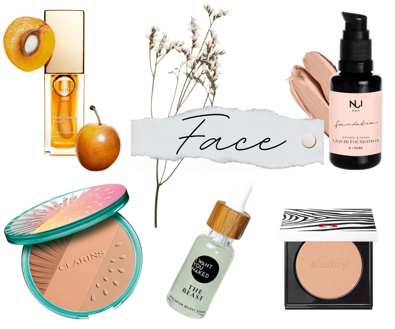 Sommer Glow Produkte fürs Gesicht